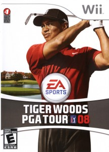 Tiger Woods 08 wii