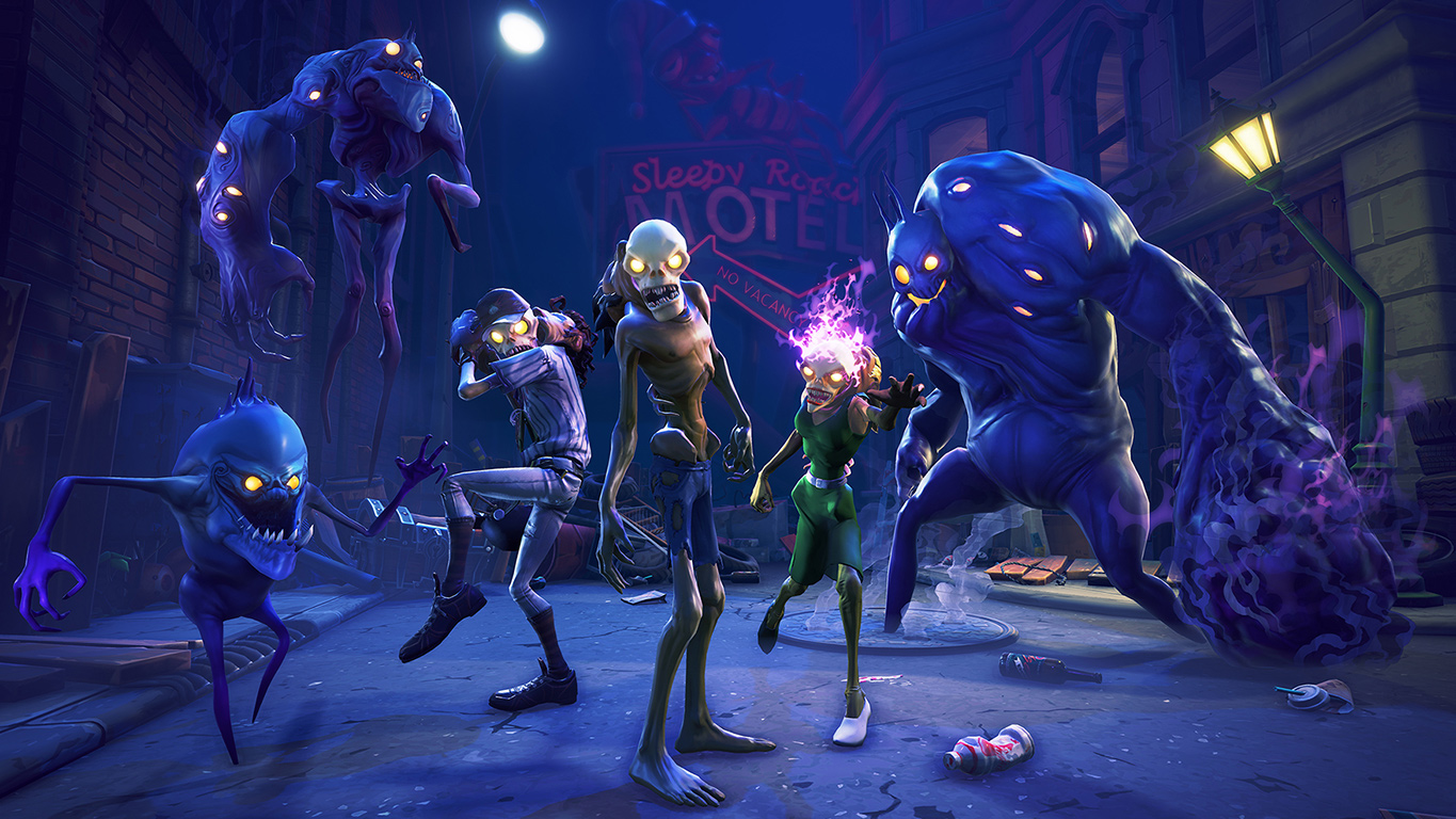 Image of monsters from Fortnite Save The World